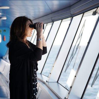 Cruising With Jane McDonald Se4 Ep 1 - Jane scans the horizons from the Bridge of the Silver Muse.
