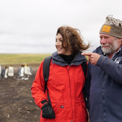 Cruising With Jane McDonald Se4 Ep 1 - Jane visits a penguin colony and learns about the different breeds that call the Falkland Islands home.