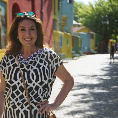 Cruising With Jane McDonald Se4 Ep 1 - Jane enjoys the sunshine in Argentina's capital city, Buenos Aires.