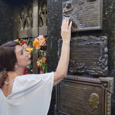 Cruising With Jane McDonald Se4 Ep 1 - Jane visit the grave of Eva Peron