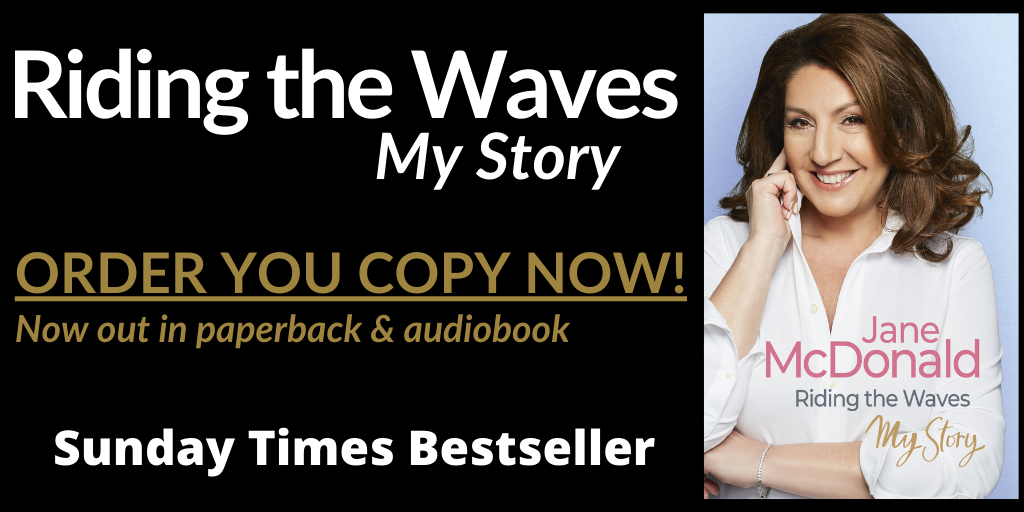 Riding the Waves my story Jane McDonald