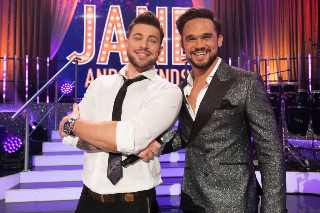 Duncan James and Gareth Gates