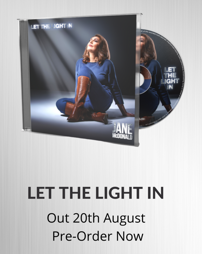 Jane McDonald New Album Let the Light In Out August 20th
